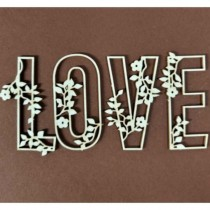 Chipboard- Love with spring...