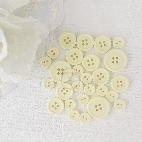 Button set 02- YELLOW