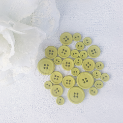 Button set 04-GREEN/OLIVE