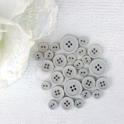 Button set 09- LIGHT GRAY
