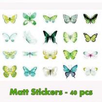 Stickers Box - GREEN...