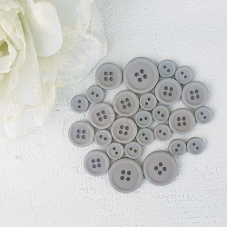 Button set 010 - MEDIUM GRAY