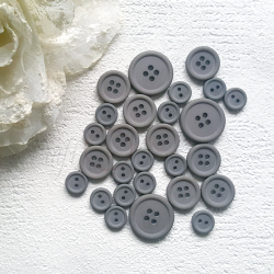 Button set 011 - DARK GRAY