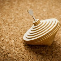 Chipboard 3D  - Spinning top