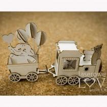 Chipboard 3D - The train...