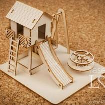 Chipboard 3D - Playground -...