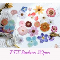 PET Stickers -  FLOWER...