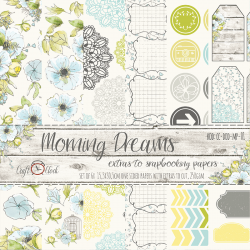 Scrapbooking Papers - Daydream (6x6)