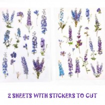 PET Stickers on the sheet -...
