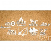 Chipboard -  MOUNTAINS...