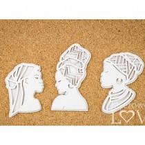 Chipboard - AFRICAN WOMEN -...