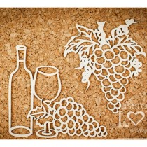 Chipboard - Wine set with...