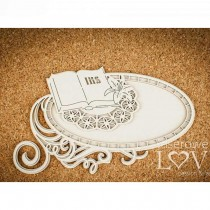 Chipboard -  Layered oval...