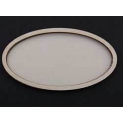 Chipboard - Shaker Cards OVAL