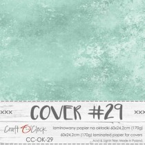 COVER - Laminated paper - BLUE