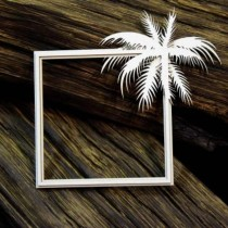 Chipboard- Layered Frame...