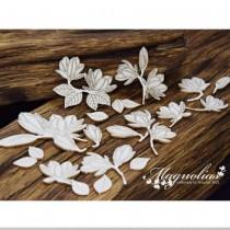 Chipboard - Magnolias - SET