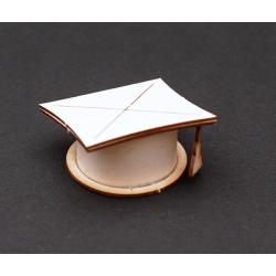 Chipboard - Graduate Cap (3D)