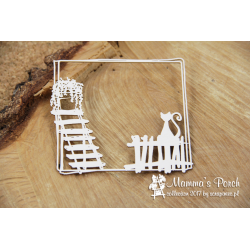 Chipboard - Mamma's Porch - square frame