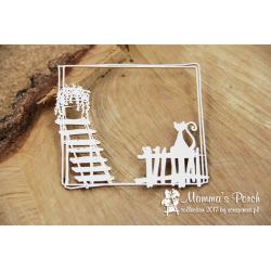 Chipboard - Mamma's Porch - square frame