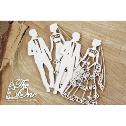 Chipboard-The one - 2 layers bridegroom(2D)