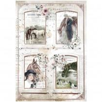 A4 Rice Paper - Romantic -...