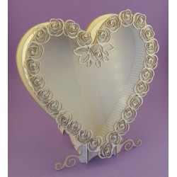 Shadow box - Heart Frame