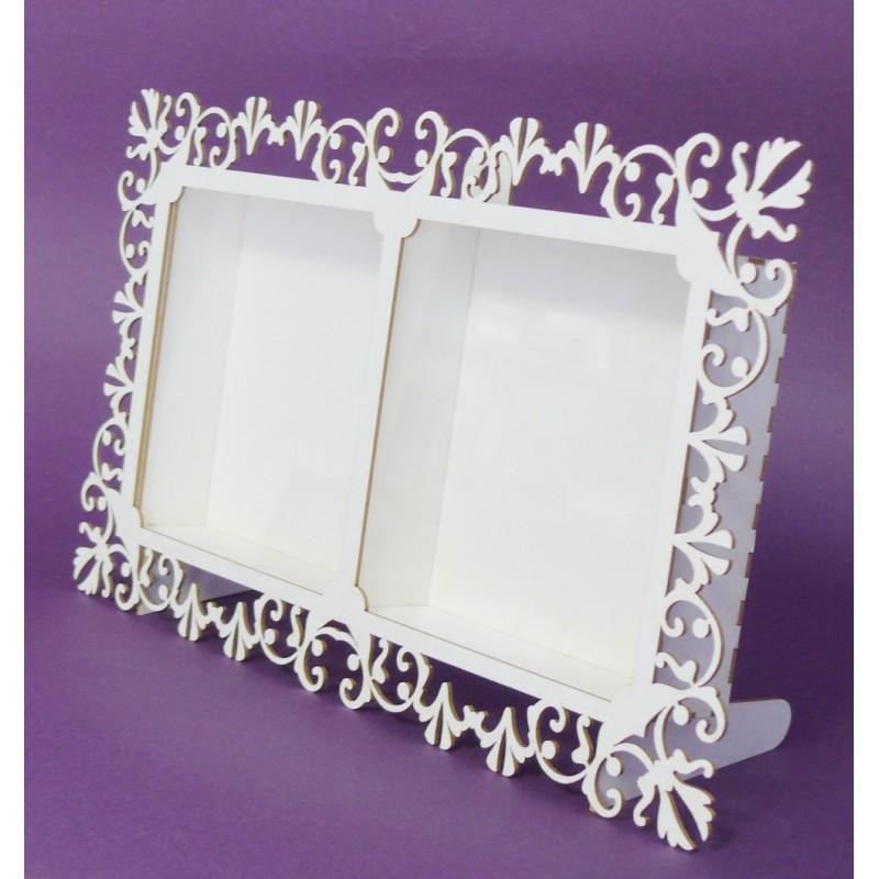 Shadow box - 2 Windows Frame (big) - Craft shop