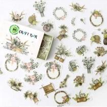 DECO WASHI Mini Stickers -...