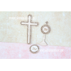 Chipboard - Set B: Cross / Monstrance / Ornamental Host
