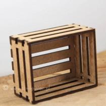 MDF - TINY WOODEN BOX 3D