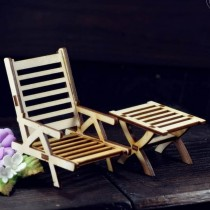 MDF - Lounger with table 3D