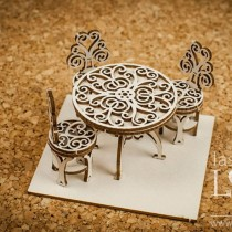 Chipboard -  Table with...