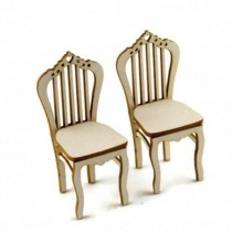 Chipboard - 2 CHAIRS 3D