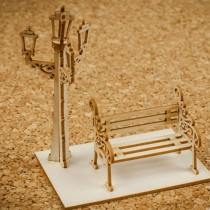 Chipboard - Bench with...