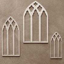 Chipboard - Castle windows...