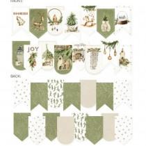 Paper die cut garland -...