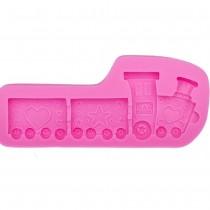 Silicone Mold - TRAIN - toy