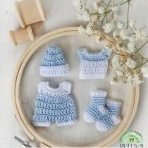 Crochet Item - BABY BOY SET