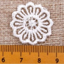 Embroidered Appliques Lace...