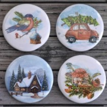 Adhesive Badges  - WINTER...