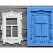 Silicone Mold - VINTAGE WINDOW