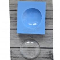 Silicone Mold - CIRCLE CAMEO