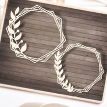 Chipboard - Ruskus frames 2pcs