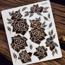 Chipboard - Openwork Roses...