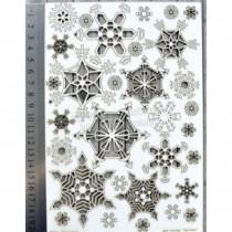 Chipboard - Snowflakes set...