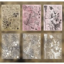 Set of cards and tracing...