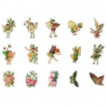 PET Stickers - SMALL FLOWER...