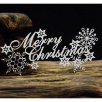 Chipboard - Merry Christmas...