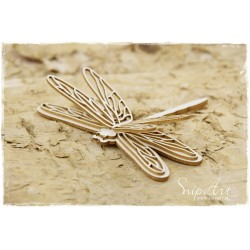 Chipboard- Dragonfly with a 3D effect